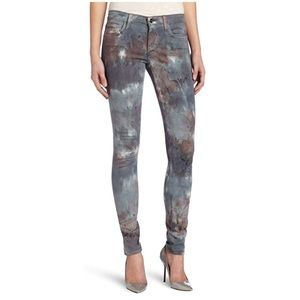 Joes Granite Dye Skinny Jeans in Mountain Rose